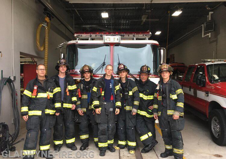 Ladder 24's crew