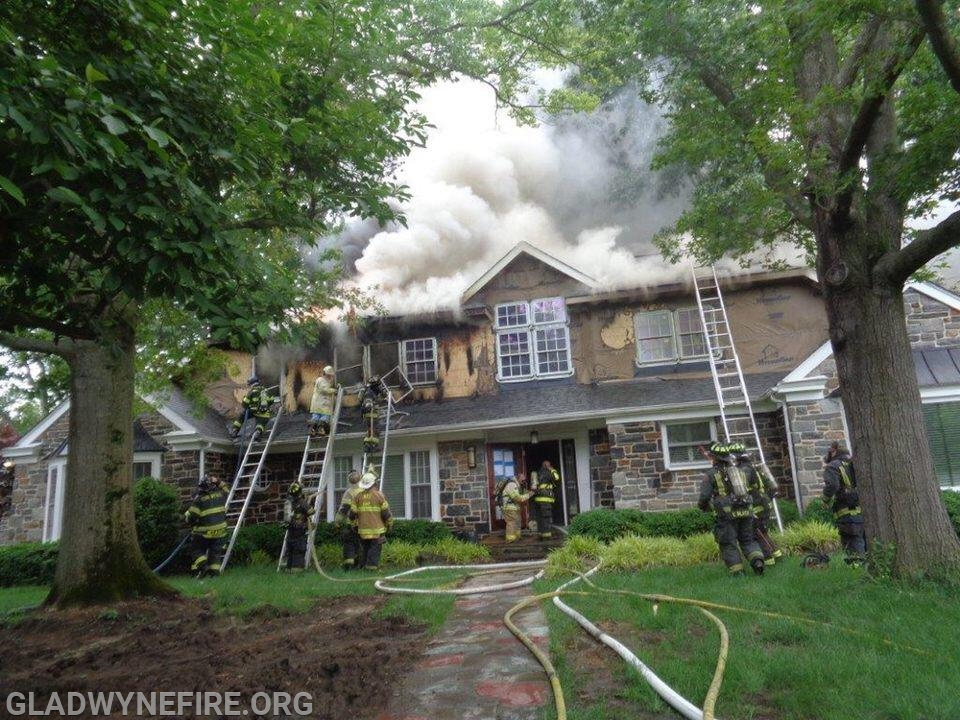 Merion Station house fire