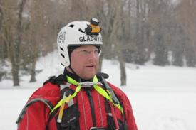 Ice Rescue Drill January 2014