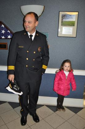 Mike and his daughter Riley